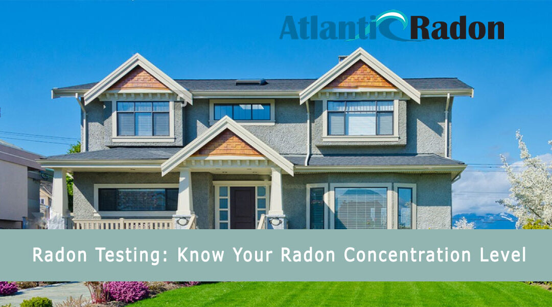 Know Your Radon Concentration Level