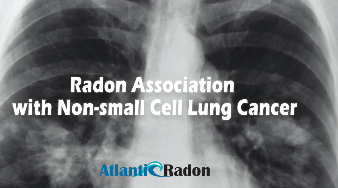 Radon Association with Non-small Cell Lung Cancer