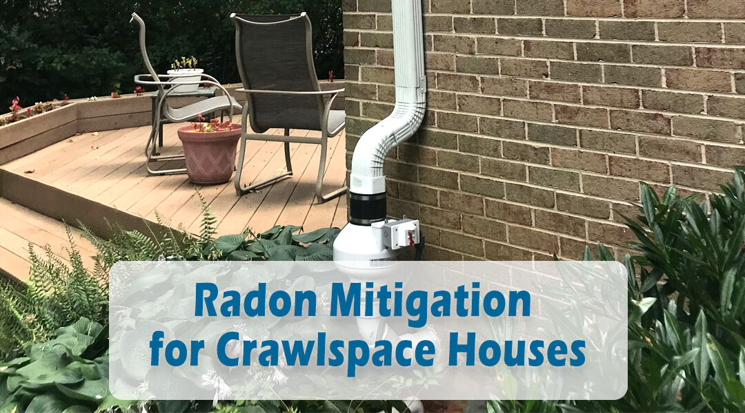 Radon Mitigation for Crawlspace Houses