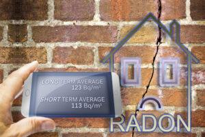 Radon testing for homes